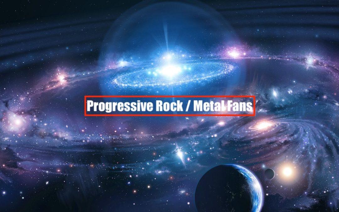 Reference – Progressive Rock/Metal Fans